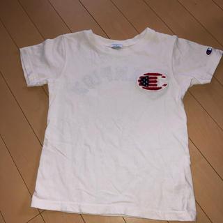 BREEZE - BREEZE.チャンピョンCHAMPION.130Tシャツ男女ok.白Tシ