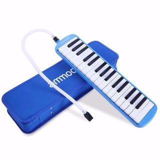 鍵盤ハーモニカ 32鍵 ピアノスタイル マウスピースクリーニングクロスキャリーケ