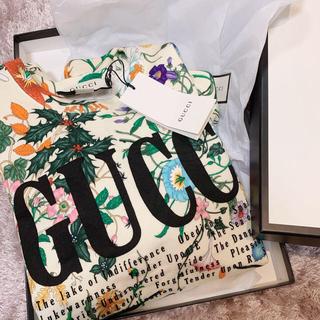 グッチ(Gucci)のGUCCI プリント オーバーサイズ スウェットシャツ(トレーナー/スウェット)