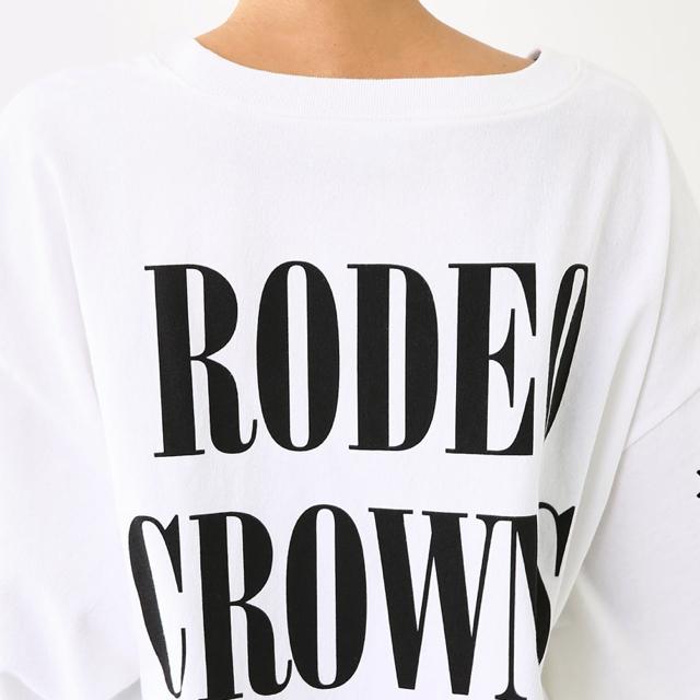 RODEO CROWNS WIDE BOWL(ロデオクラウンズワイドボウル)のRCWB★championコラボルーズTワンピ レディースのワンピース(ひざ丈ワンピース)の商品写真