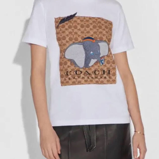 コーチ(COACH)のダンボ ディズニー Tシャツ  coach コーチ(Tシャツ(半袖/袖なし))