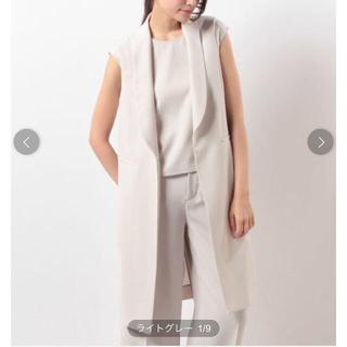 TOMORROWLAND - 定価2.8万円★ダブルクロスタキシードジレ