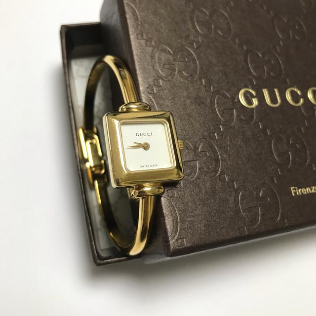 Gucci - 【GUCCI】腕時計 1900L ゴールド色の通販 by みこ's shop|グッチならラクマ