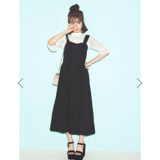 one after another NICE CLAUP - ❤︎ネット完売商品❤︎ コルセットロングワンピース