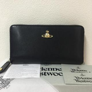 Vivienne Westwood - ◆新品◆Vivienne Westwood◆サフィアーノレザー長財布◆ブラック