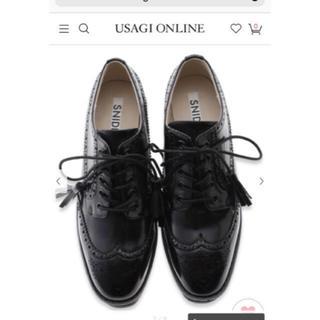 スナイデル(snidel)のsnidel スナイデル 厚底 シューズ 靴🍩(ローファー/革靴)