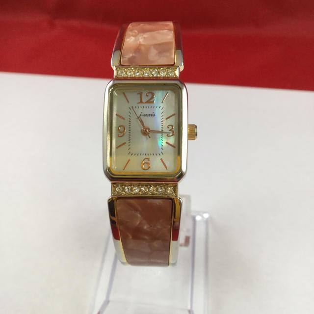 エルメス 財布 取り寄せ 、 腕時計 バングル シェル文字盤 レディースクォーツの通販 by シャル's shop|ラクマ