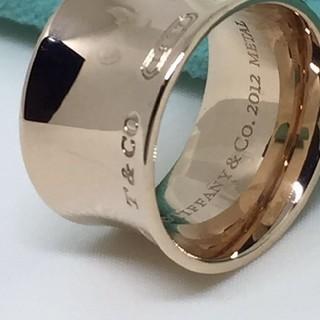 ティファニー(Tiffany & Co.)のティファニー☆ルベドメタルワイドリング(リング(指輪))