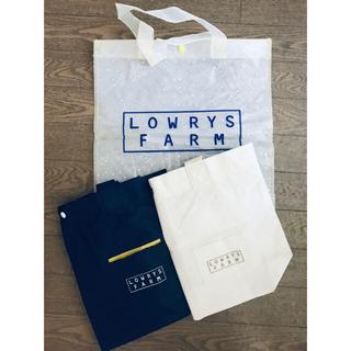 ローリーズファーム(LOWRYS FARM)の【LOWRYS FARM】限定ショップバッグ3点セット+おまけ付き(ショップ袋)