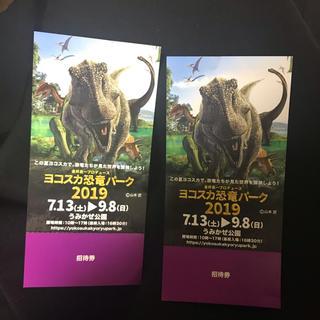 ヨコスカ 恐竜パーク 2019 チケット ペア 2枚