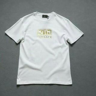 ヴェルサーチ(VERSACE)のVERSACE × KITH レディース、メンズ Tシャツ(Tシャツ/カットソー(半袖/袖なし))