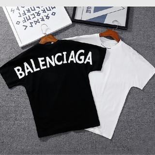 Balenciaga - balenciaga tシャツ 2枚セント 男女兼用 お洒落