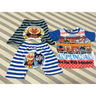 アンパンマン - アンパンマン  Tシャツ パンツ 3点セット 80