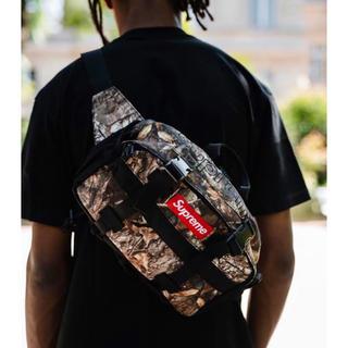 シュプリーム(Supreme)のsupreme waist bag カモ柄 新品未使用 本日配送可能 (ウエストポーチ)