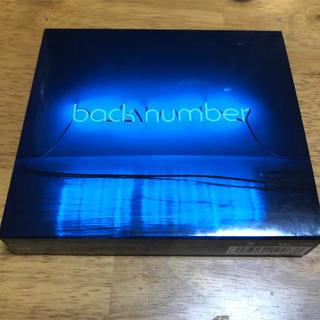 バックナンバー(BACK NUMBER)のback number アンコール 初回盤B(CD2枚+Blu-ray)(ポップス/ロック(邦楽))