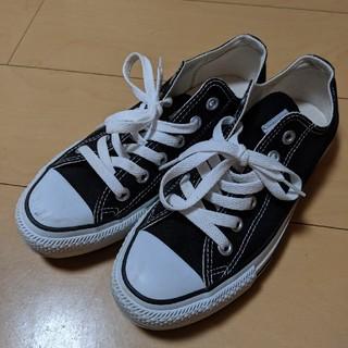 CONVERSE - 8/31まで【美品】コンバース オールスター ブラック 24.5