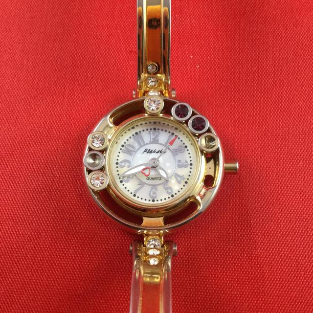hermes バッグ 白 | ファッションバングル時計 電池交換済の通販 by シャル's shop|ラクマ