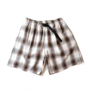 フィーニー(PHEENY)のpheeny rayon ombre check short pants(ショートパンツ)