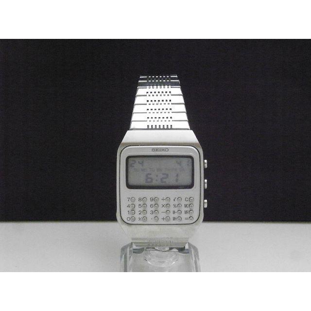 SEIKO - SEIKO 計算機 腕時計 ヴィンテージ C153-5011の通販 by Arouse 's shop|セイコーならラクマ