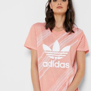 adidas - adidas レディース Tシャツ M ピンク DV2626