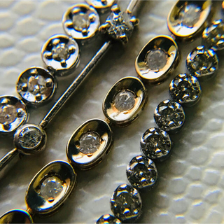 JEWELRY TSUTSUMI - k10 ダイヤモンド テニスブレスレット フルエタニティ