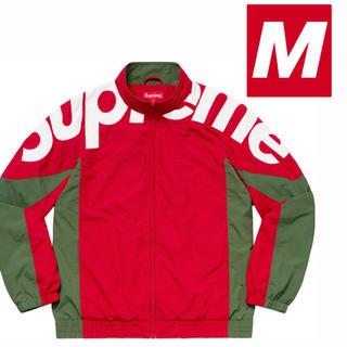 Supreme - 【即日発送】Shoulder Logo Track Jacket【M/赤】