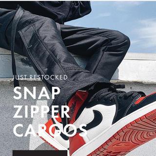 フィアオブゴッド(FEAR OF GOD)のmnml snap zip cargo pants(ワークパンツ/カーゴパンツ)