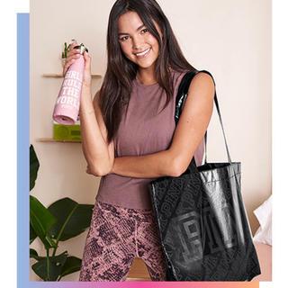 ヴィクトリアズシークレット(Victoria's Secret)の非売品・トートバッグとウォーターボトルセット VS PINK 新品未使用(タンブラー)