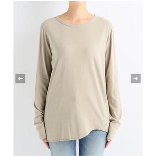 DEUXIEME CLASSE - 新品 Deuxieme Classe ◇Layering Tシャツ ベージュ