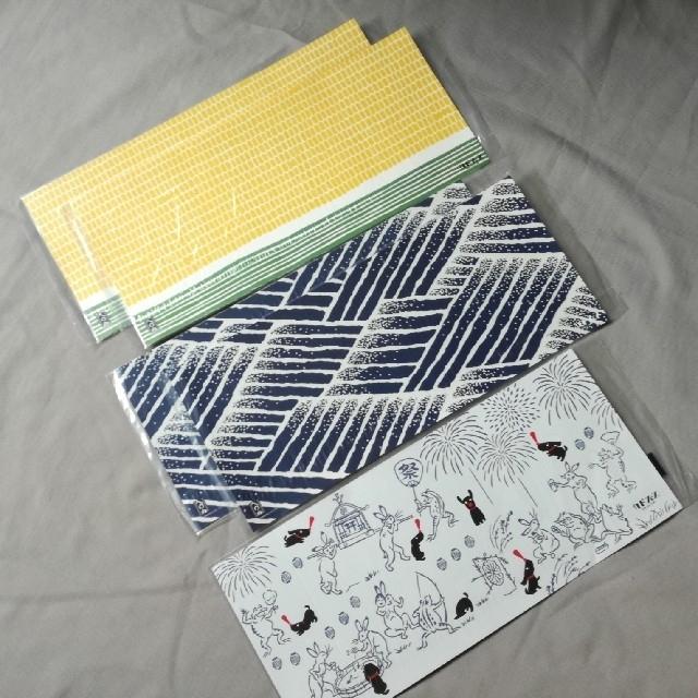 角川書店(カドカワショテン)のカドフェスのブックカバー かまわぬ 5枚 エンタメ/ホビーの本(その他)の商品写真