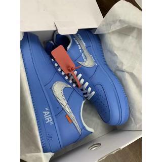 NIKE - OFF WHITE x Nike Air Force 1 MCA Blue