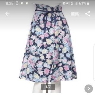 WILLSELECTION - ウィルセレクション ガーデンフラワースカート