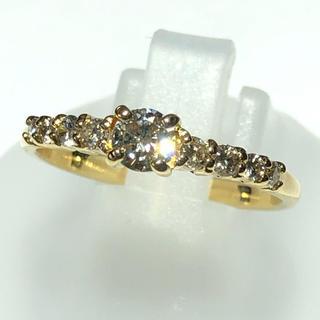 破格!! リング 指輪 ダイヤモンド ヨンドシー k18yg イエローゴールド(リング(指輪))