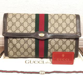 Gucci - 極美品♡オールド GUCCIグッチ クラッチバッグ  セカンドバッグ