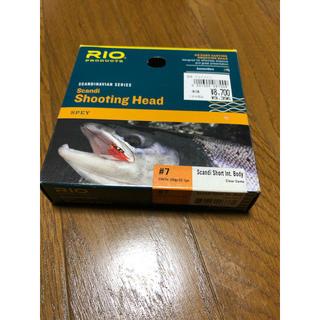 リオ(RIO)のRIO  Scandi Short Int.Body #7 シンクティップ付(釣り糸/ライン)
