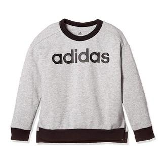 adidas - adidas アディダス 120cm ロゴ入 スウエット 長袖 トレーナー 新品