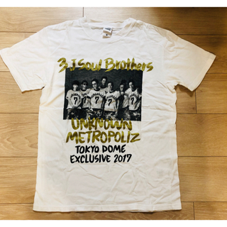 サンダイメジェイソウルブラザーズ(三代目 J Soul Brothers)の三代目 ツアーTシャツ(国内アーティスト)