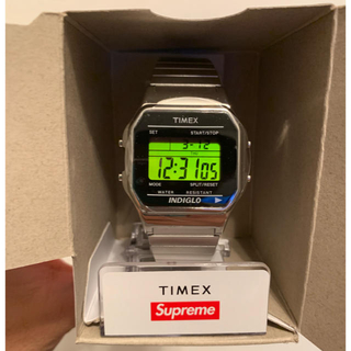 シュプリーム(Supreme)の即発送! 19FW Supreme TIMEX シュプリーム タイメックス (腕時計(デジタル))