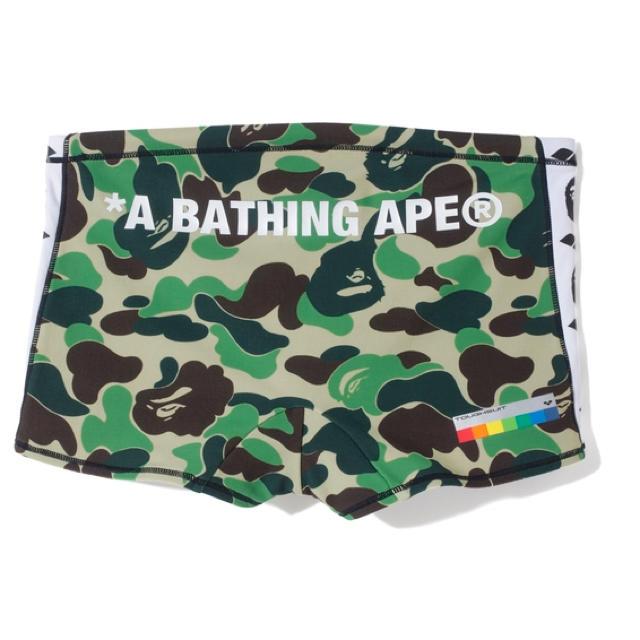 A BATHING APE(アベイシングエイプ)の激レアSサイズ!【 BAPE X ARENA 】SHORT BOX スイムパンツ メンズの水着/浴衣(水着)の商品写真