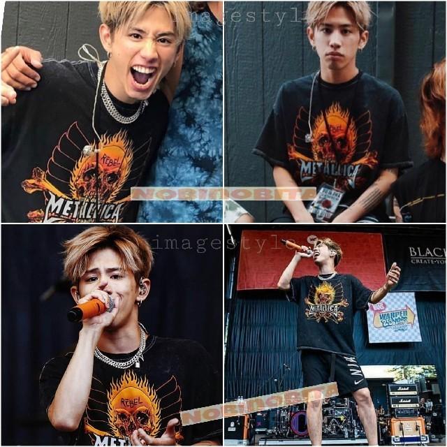 ONE OK ROCK(ワンオクロック)のL☆METALLICA  REBEL Tシャツ メンズのトップス(Tシャツ/カットソー(半袖/袖なし))の商品写真