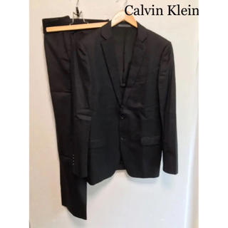 CK Calvin Klein メンズスーツ セットアップ 上下 ストライプ