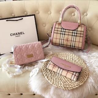 ディオール(Dior)のburberryとdiorバッグセット(ハンドバッグ)