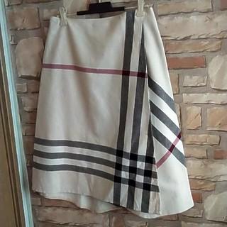 BURBERRY - 定価48000円 ♥バーバリー 巻き ラップ スカート ロングスカート パンツ