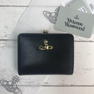 Vivienne Westwood -  ◆Vivienne Westwood限定セール◆大人気定番 二つ折りがま口財布