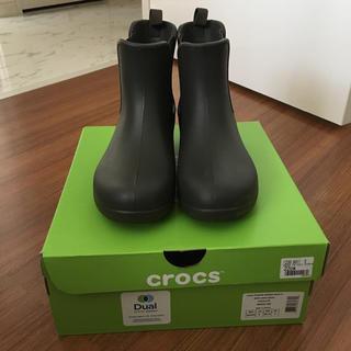 クロックス(crocs)の【箱なしSALE】クロックス★レインブーツ22㎝【W6】(レインブーツ/長靴)