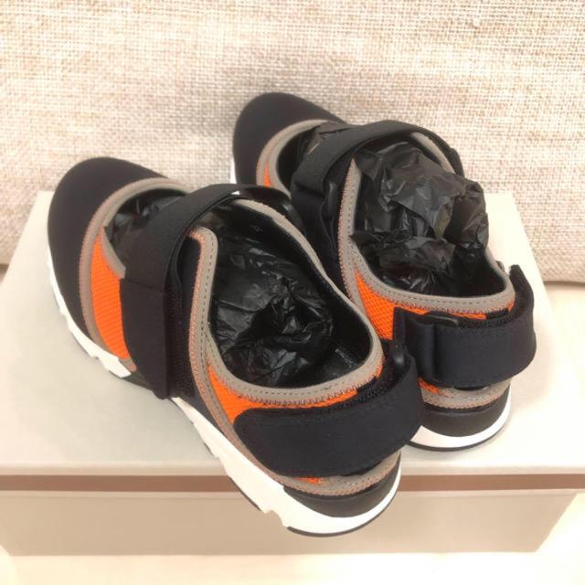 Marni(マルニ)の新品MARNI スニーカー 37サイズ オレンジブラック レディースの靴/シューズ(スニーカー)の商品写真