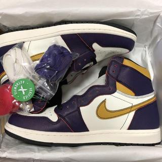 28CM AIR JORDAN 1 OG SB LA TO CHICAGO