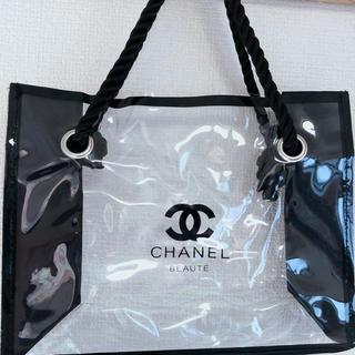 CHANEL - シャネル コスメ Beaute ビニールバッグ プールバッグ クリア