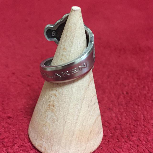 ヴィンテージ リング ロレックス スプーンリング ROLEX 8号 調整可425 メンズのアクセサリー(リング(指輪))の商品写真