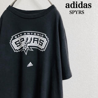 Used adidas spurs logo tee